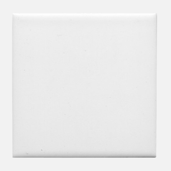 This Is My Drinking Shirt White Tile Coaster