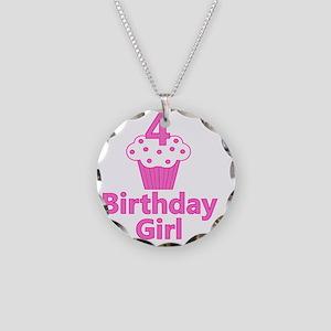 birthdaygirl_4 Necklace Circle Charm