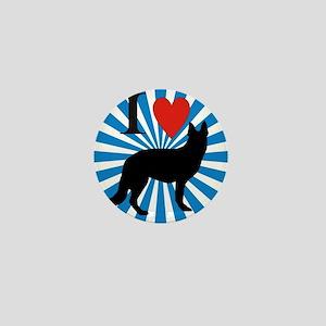 german shepard Mini Button