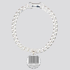 INVENTORY-black Charm Bracelet, One Charm