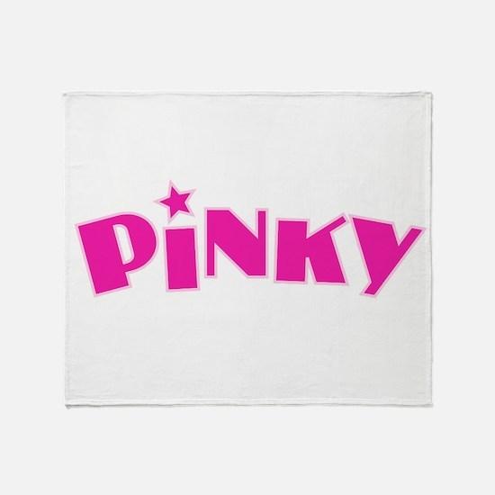 Pinky Throw Blanket
