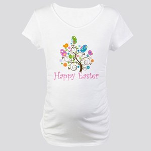 Happy Easter Maternity T-Shirt