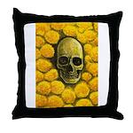 Marigold Mantra Throw Pillow