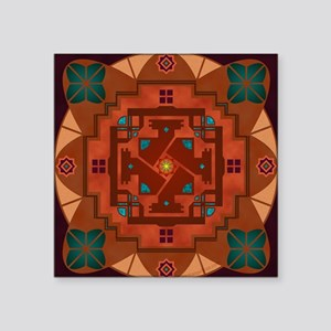 "50011S-Taos Square Sticker 3"" x 3"""