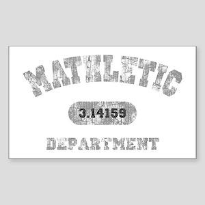 math-dept-DKT Sticker (Rectangle)