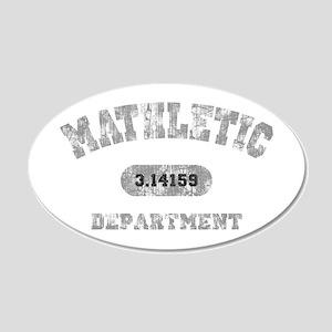 math-dept-DKT 20x12 Oval Wall Decal