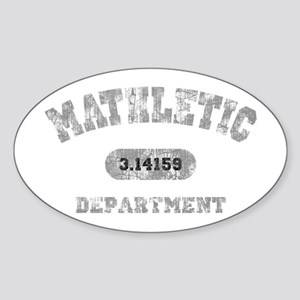 math-dept-DKT Sticker (Oval)