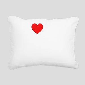 heart my 3rd grade class Rectangular Canvas Pillow
