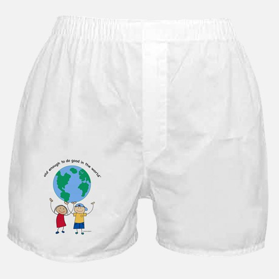 Old Enough Boxer Shorts