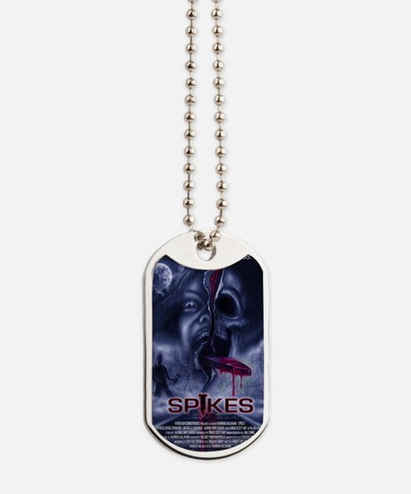 Spikes_Poster_Illustrated Dog Tags