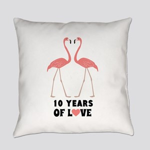 Anniversary Years Personalized Everyday Pillow