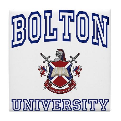 BOLTON University Tile Coaster
