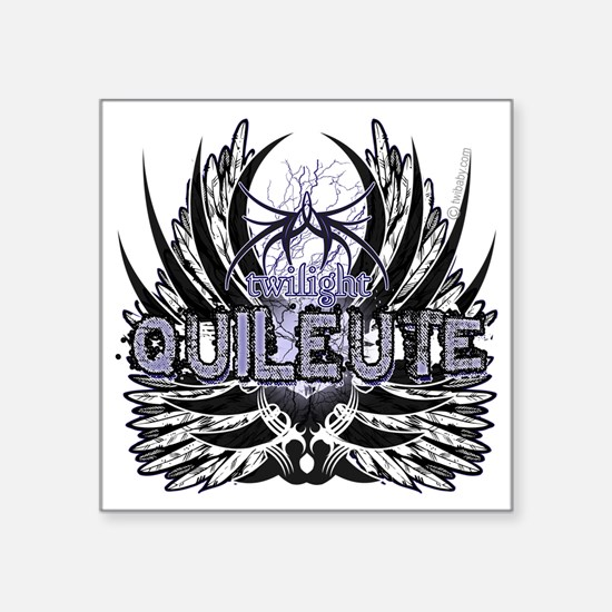 "Twilight Quileute Square Sticker 3"" x 3"""
