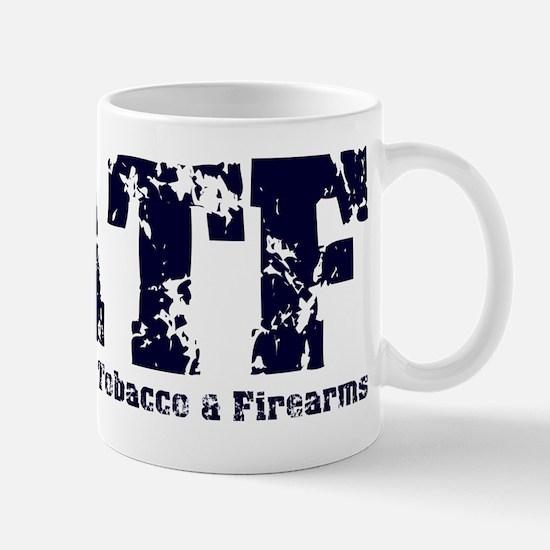 ATF Distressed Navy Mug