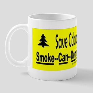 Save Colorados Wildlife Sticker Mug