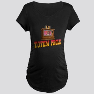 Totem Prole Maternity Dark T-Shirt