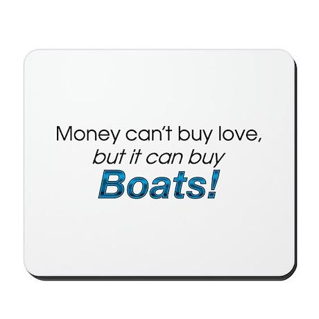 Money & Boats Mousepad