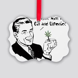 Gin and Chronic Picture Ornament