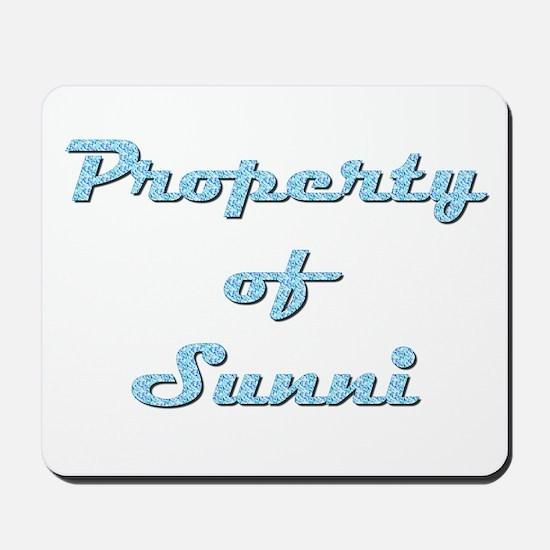 Property Of Sunni Female Mousepad