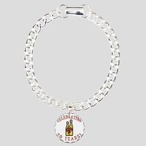 WineBow 20 Charm Bracelet, One Charm