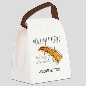 Vol bridges Canvas Lunch Bag