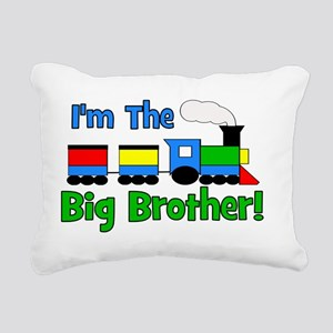 train_imthebigbrother Rectangular Canvas Pillow