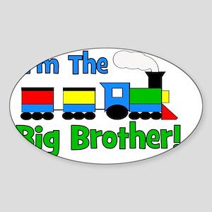 train_imthebigbrother Sticker (Oval)