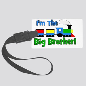 train_imthebigbrother Large Luggage Tag