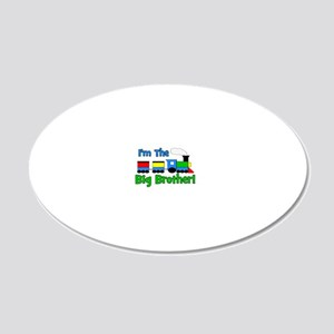 train_imthebigbrother 20x12 Oval Wall Decal