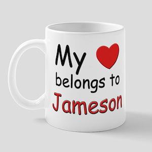 My heart belongs to jameson Mug