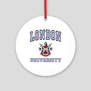 LONDON University Ornament (Round)
