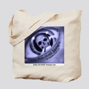 inkredible designs logo shirt back Tote Bag