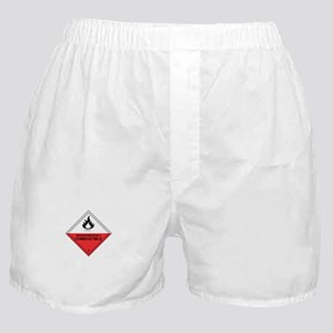 """Combustible"" Boxer Shorts"