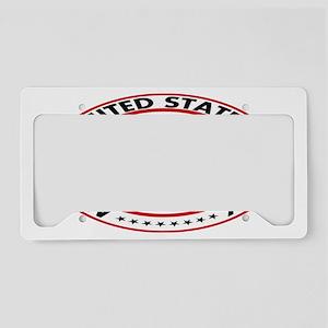 ustp_seal_new_oval License Plate Holder