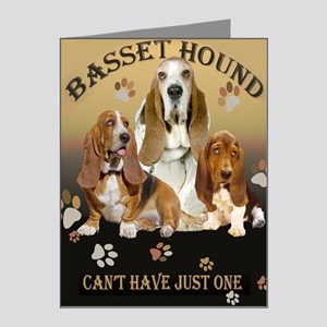 Basset Hounds Cant Have Just Note Cards (Pk of 20)