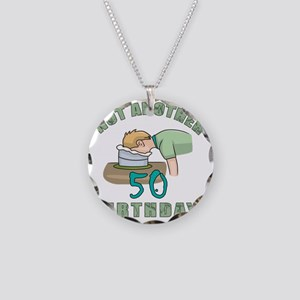 NotAnother 50 Necklace Circle Charm