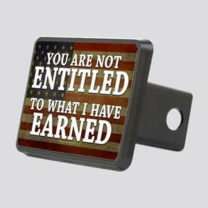 11x17_DarkFlagEntitled Rectangular Hitch Cover