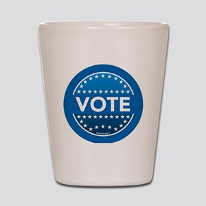 btn-blue-vote Shot Glass