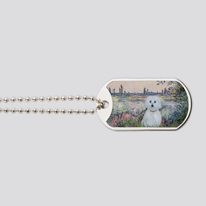 By the Seine - Maltese (B) Dog Tags