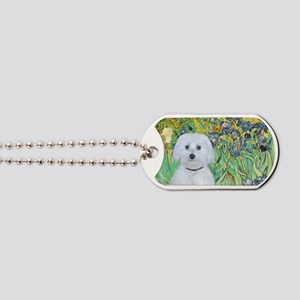 Irises - Maltese (B) Dog Tags