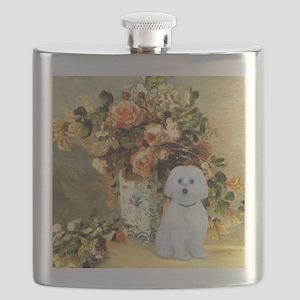 Vase - Maltese (B) - square Flask