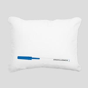 Anaklusmos Rectangular Canvas Pillow