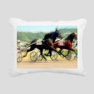 trotting power Rectangular Canvas Pillow