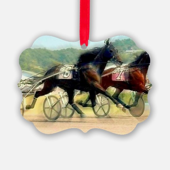 trotting power Ornament