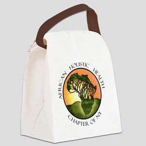 2-African Holistic Health Chapter Canvas Lunch Bag