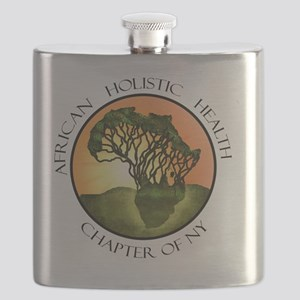2-African Holistic Health Chapter of NY-logo Flask