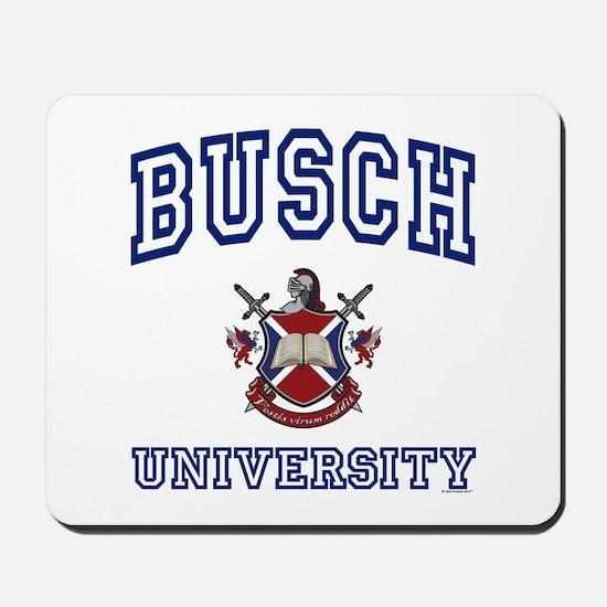 BUSCH University Mousepad