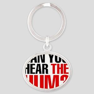 the_hum Oval Keychain