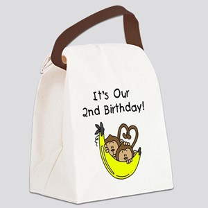 monktwinboys2nd Canvas Lunch Bag