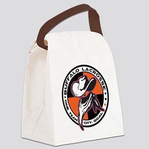 BanditWht Canvas Lunch Bag